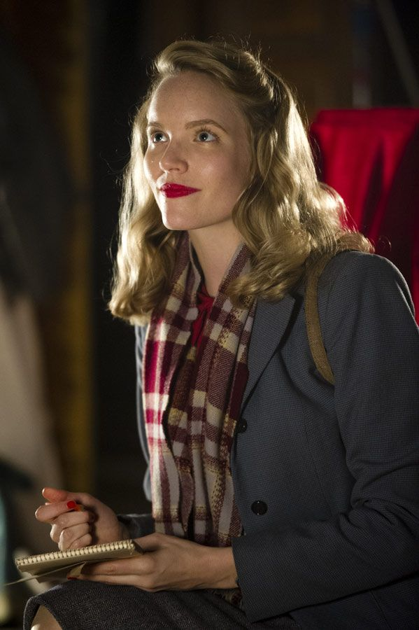 Molly Cooper - Tamzin Merchant in Murder on the Home Front, set in 1940 (2013).