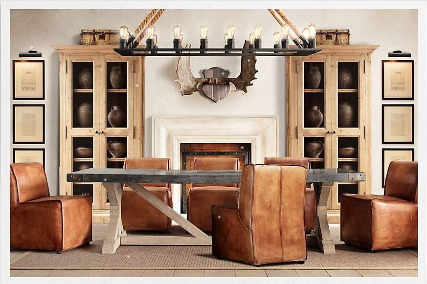 Explore Moose Antlers Dining Room Inspiration And More