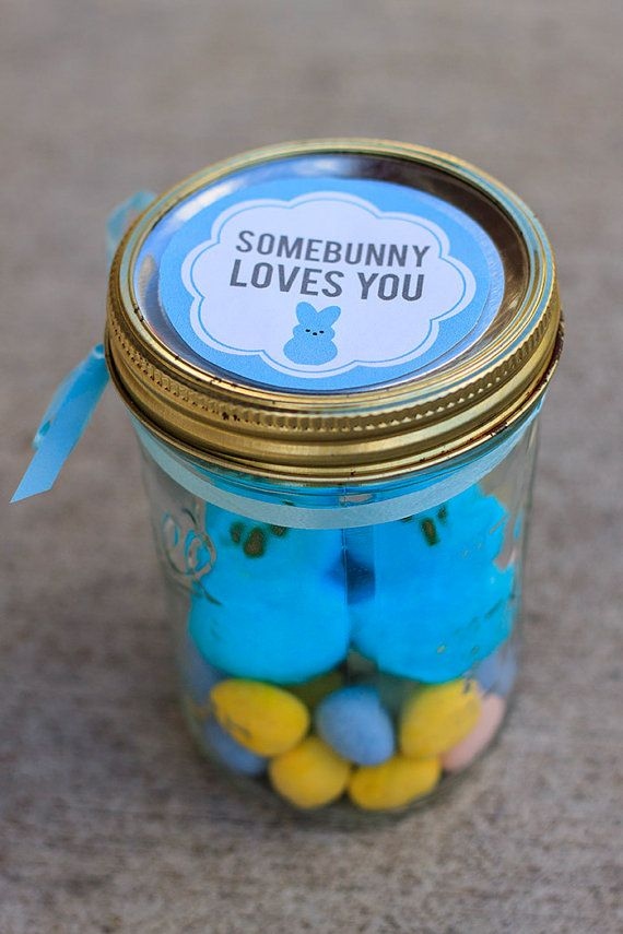 Mason jar easter gift ideas easter jar and bunny mason jar easter gift ideas mums make lists negle Images