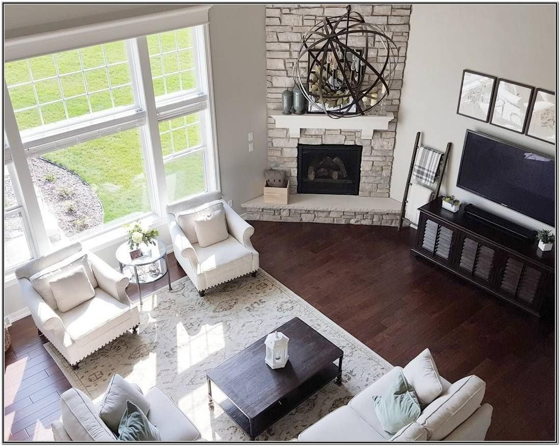 Living Room Decor With Catty Corner Fireplace Living Room Decor With Catty Corner Corner Fireplace Living Room Livingroom Layout Living Room Furniture Layout