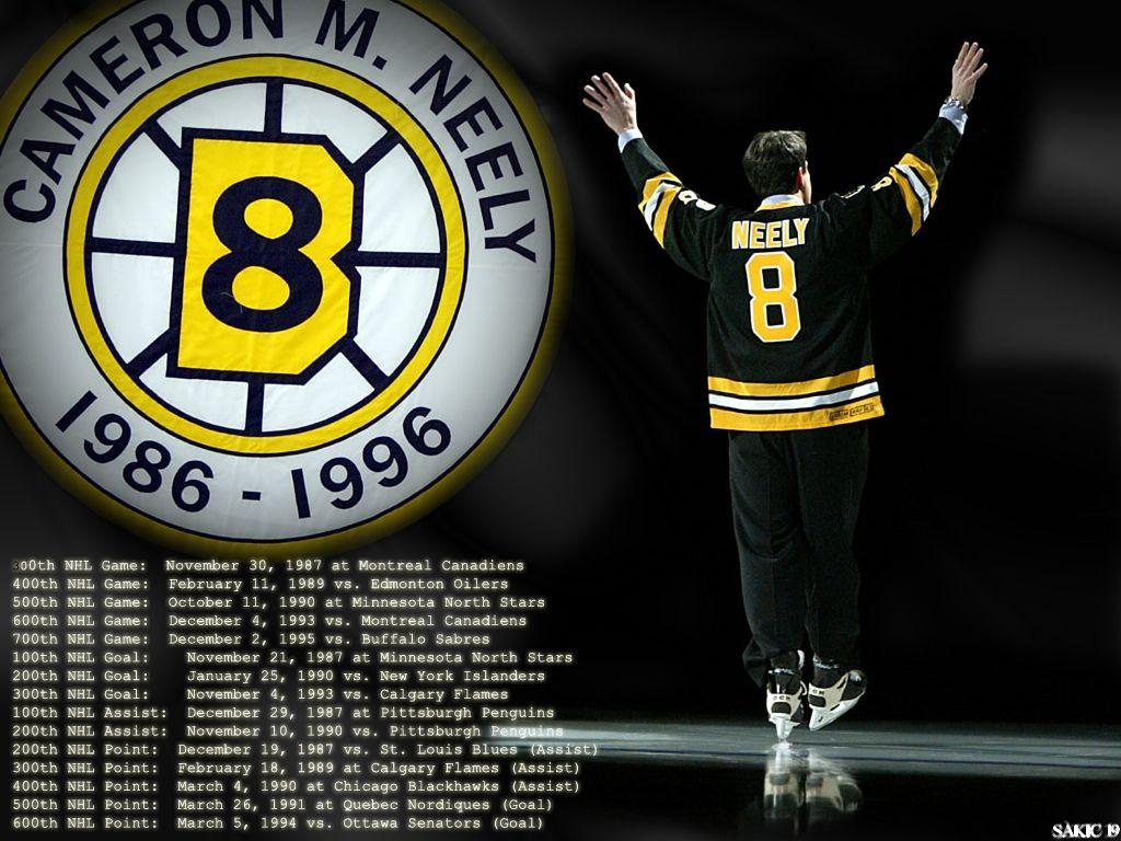 Cam Neely Legend Boston bruins hockey, Bruins hockey