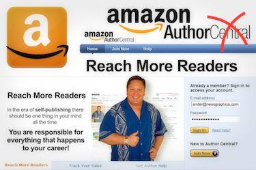 amazon author central uk