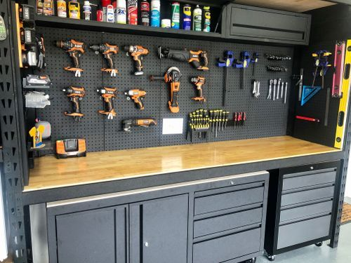 Garage storage makeover