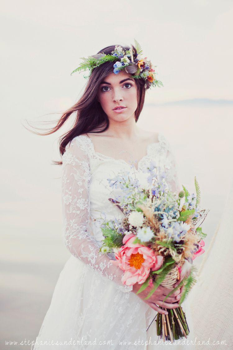 cast away bridesmaid shoot {inspiration shoot} | Beach wedding ...