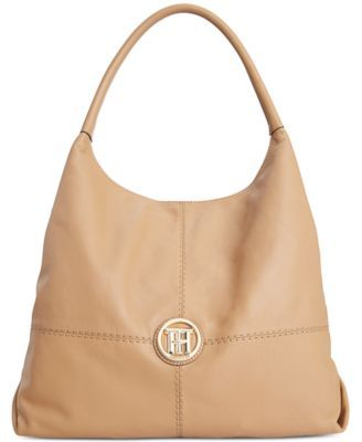 2420a4e3872 Tommy Hilfiger Jaclyn Casual Leather Hobo