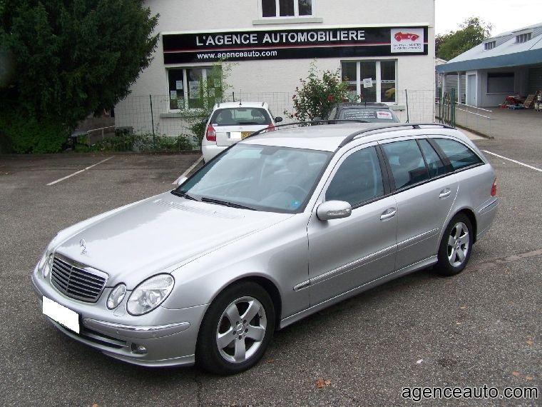 Découvrez la voiture Mercedes Classe E 270 cdi Avant Garde ...