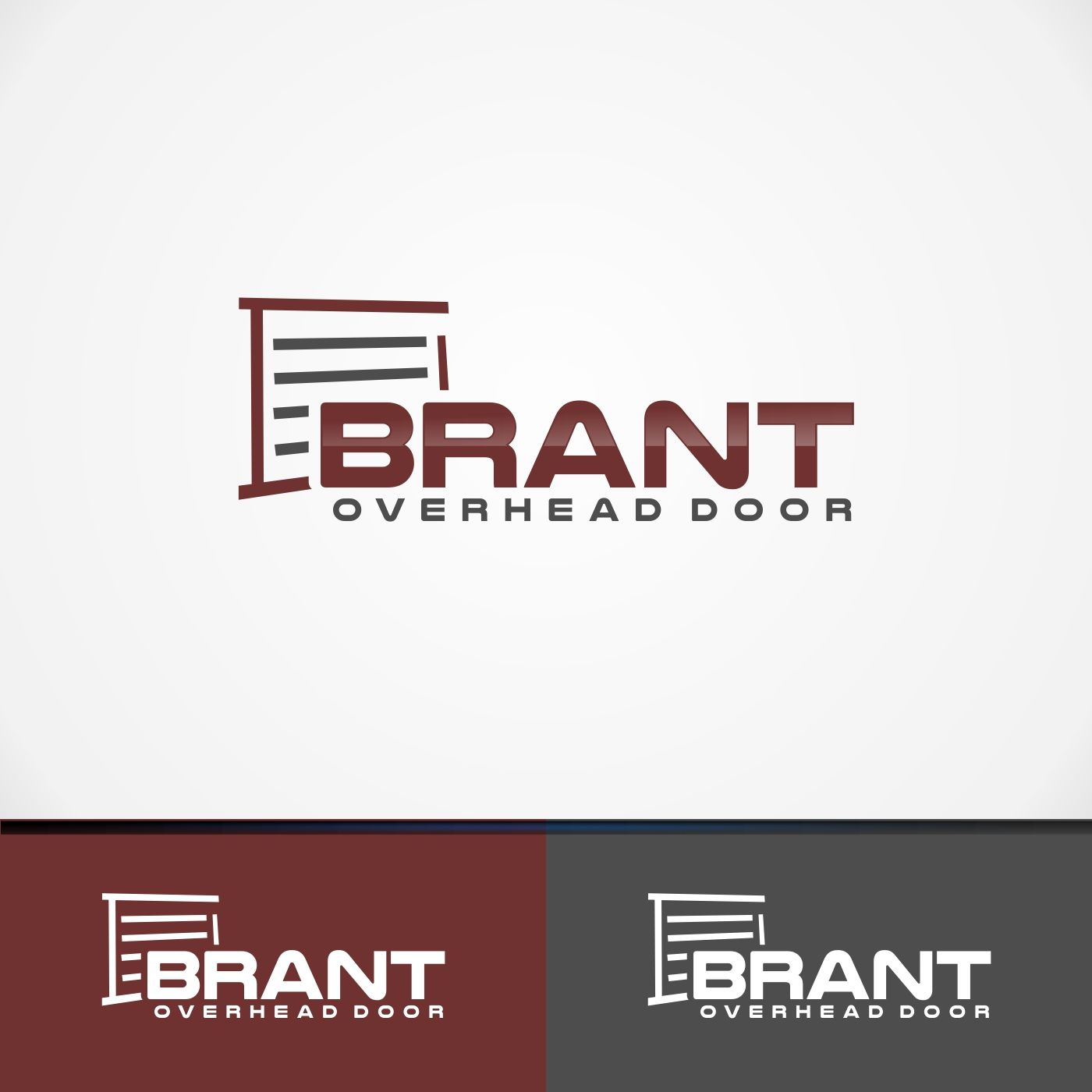 Logo redesign for garage door company Serious, Traditional ...