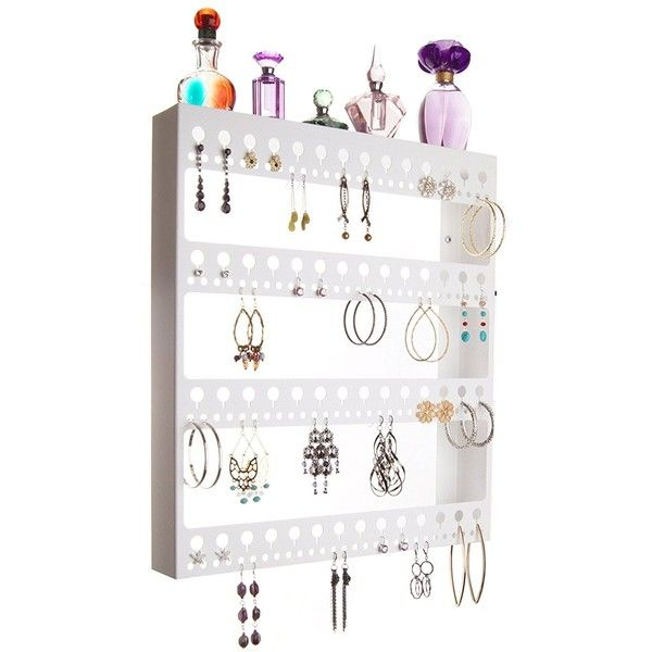 Amazoncom Wall Earring Holder Hanging Jewelry Organizer Closet