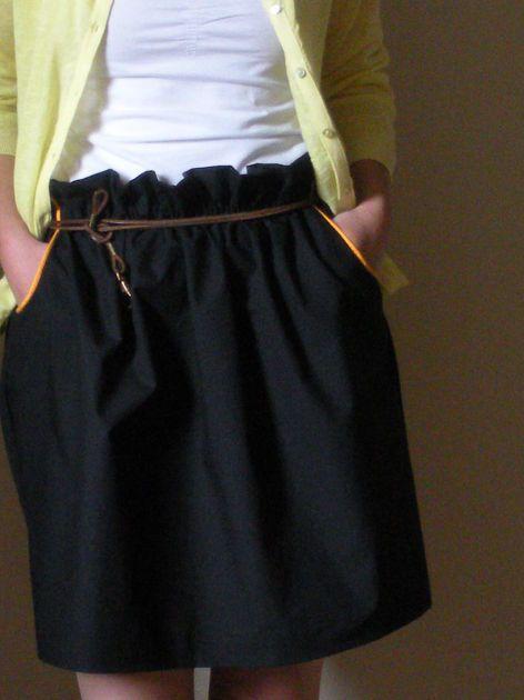Pingl par gisquet emmanuelle sur jupe pinterest - Patron couture jupe droite ...