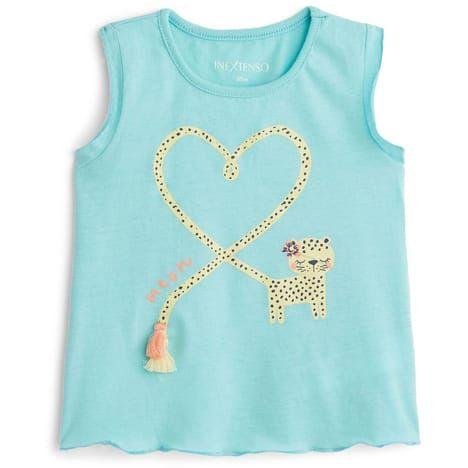 b606120551a7e T-shirt manches courtes bébé fille IN EXTENSO pas cher à prix Auchan