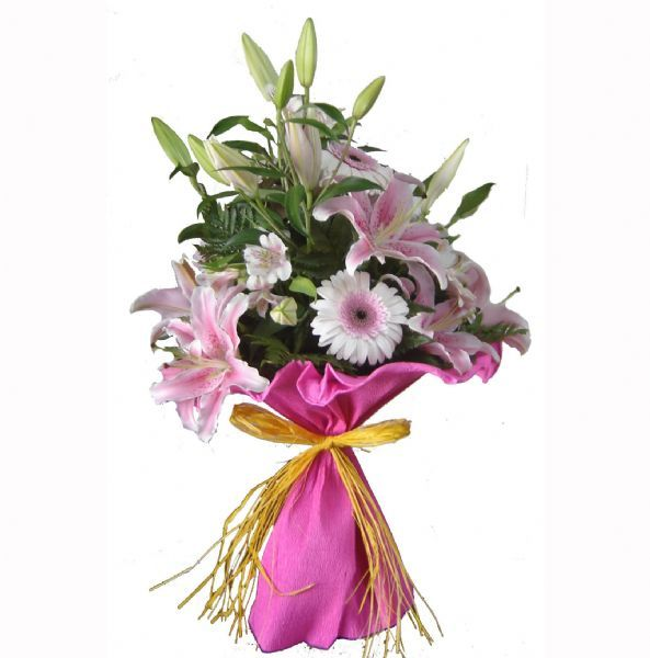 ramo de flores para regalar a la abuela