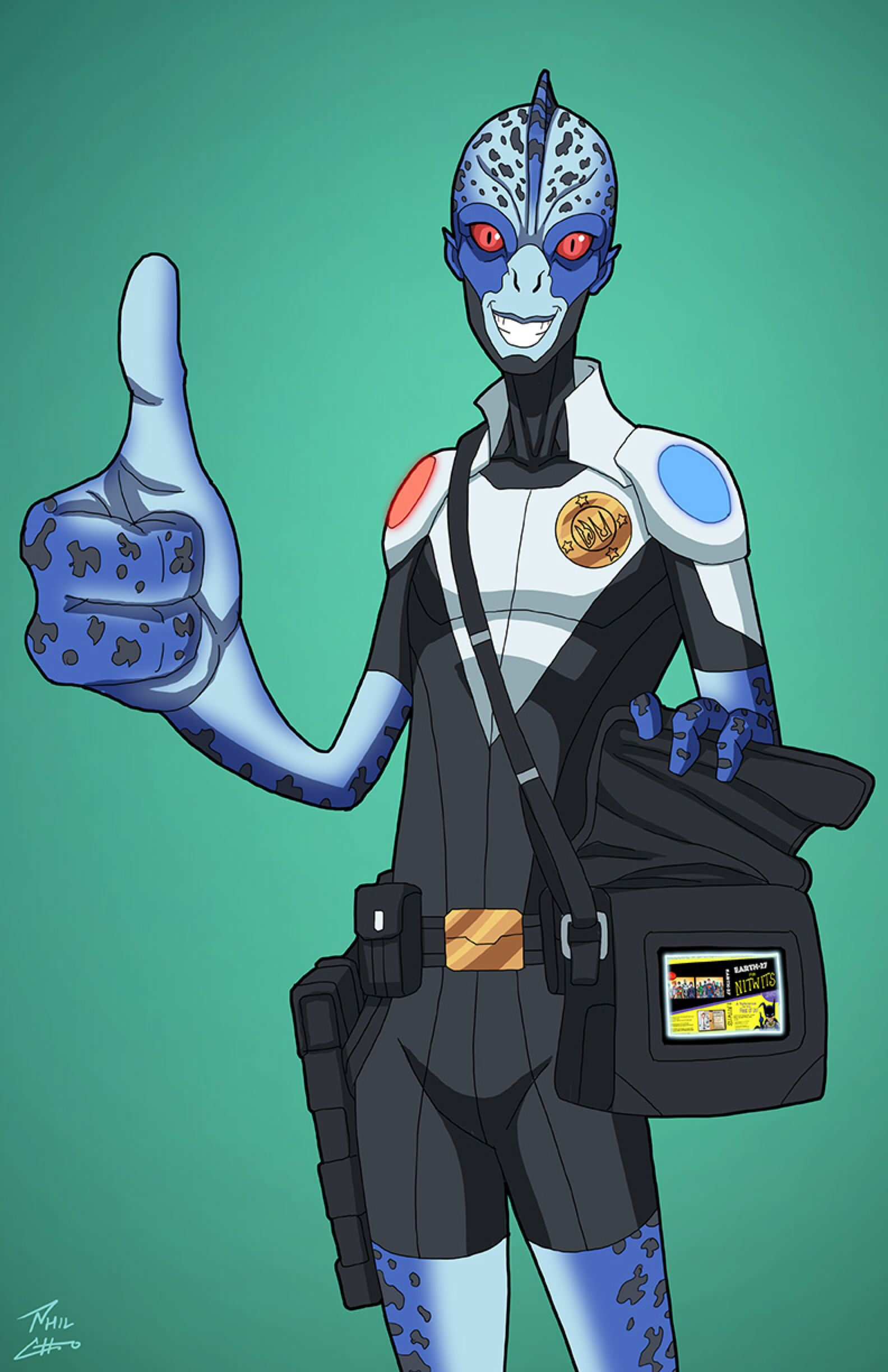Mr  Wiki (Earth-27) commission by phil-cho on @DeviantArt | hero
