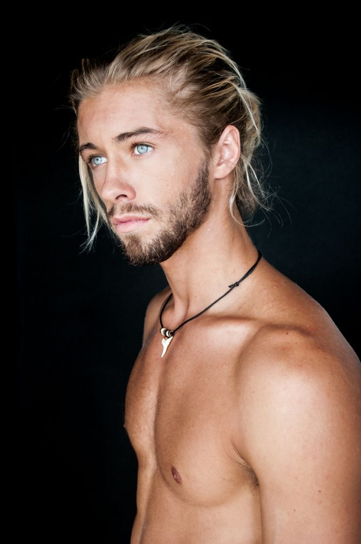 Austin Davis - Blonde Hair  Role Playing Faces - Males-5015