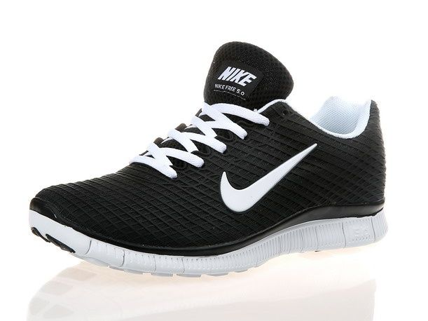 online retailer 92372 fe2ef Desceunto Nike Free Run 5.0 Negro Blanco Peso Legero Zapatillas, sports  shoes black and white