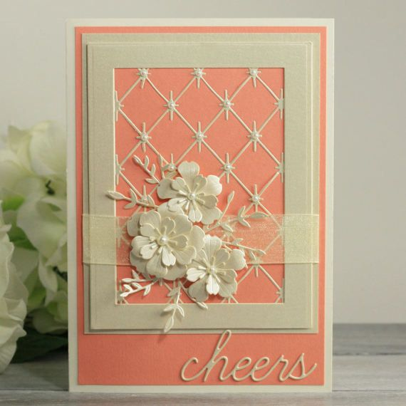 35th Anniversary Card 35 Anniversary Cards Coral Wedding Anniversary Cards Girl Birthday Cards Anniversary Cards