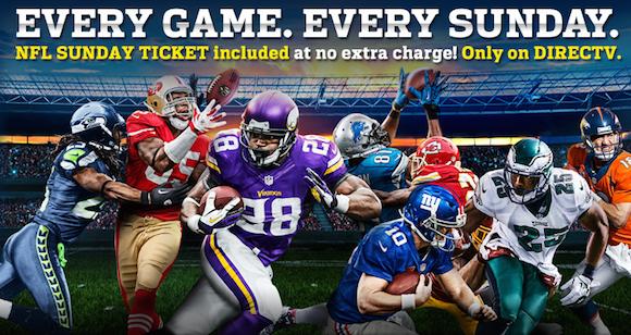 DIRECTV Get Every NFL Game Every Sunday w/ NFL Sunday