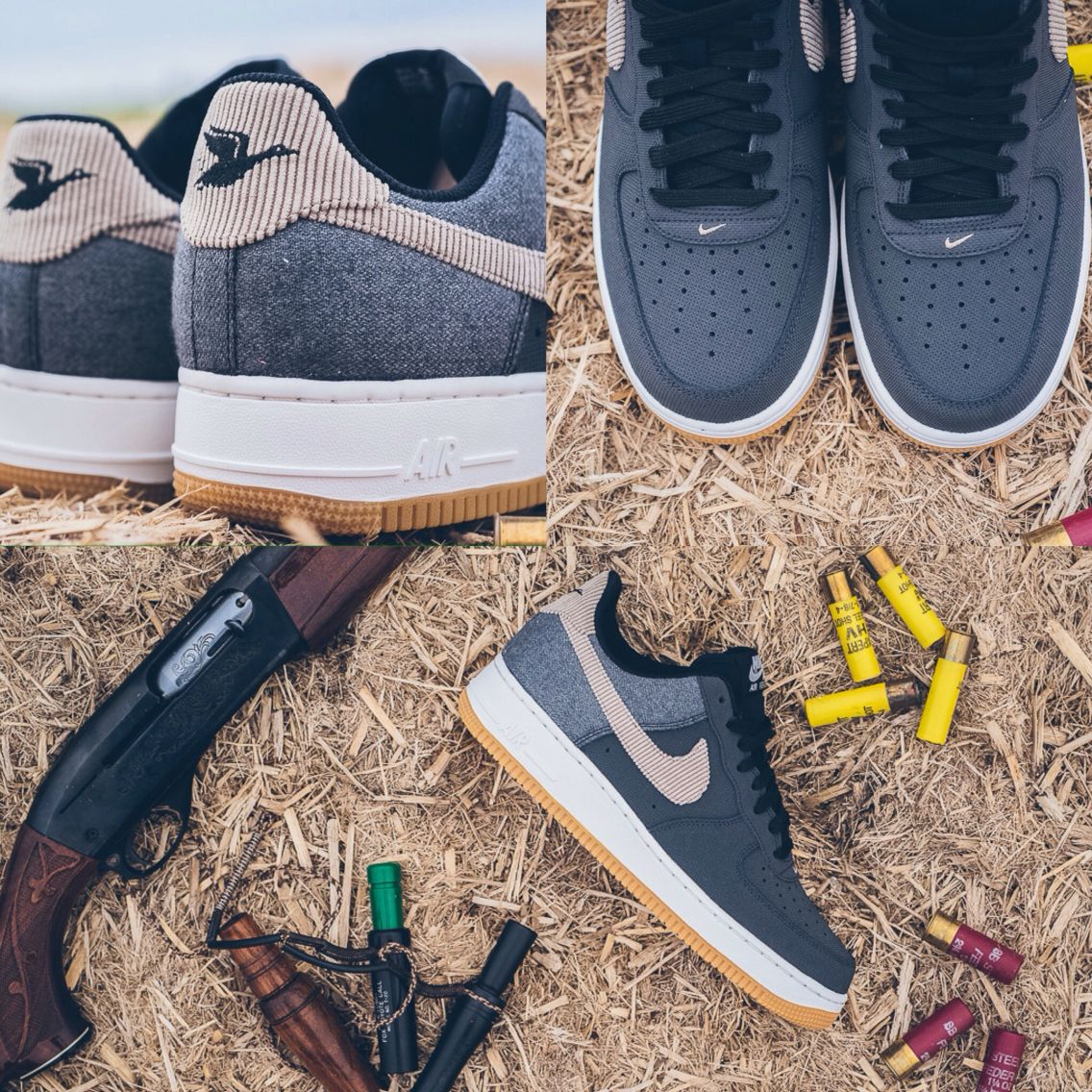 low priced c6645 153c5 Nike Air Force 1 Goes Duck Hunting