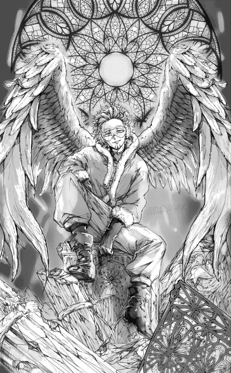 Hawks Keigo Takami Takami Keigo Anime Heaven My Hero Academia Manga Deku Boku No Hero