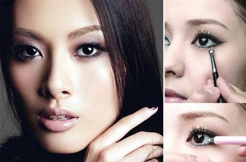 makeup tips on how to make your eyes look bigger