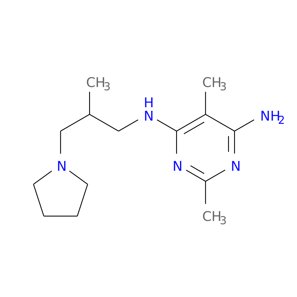 2,5-DIMETHYL-4-N-[2-METHYL-3-(PYRROLIDIN-1-YL)PROPYL]PYRIMIDINE-4,6-DIAMINE is now  available at ACC Corporation