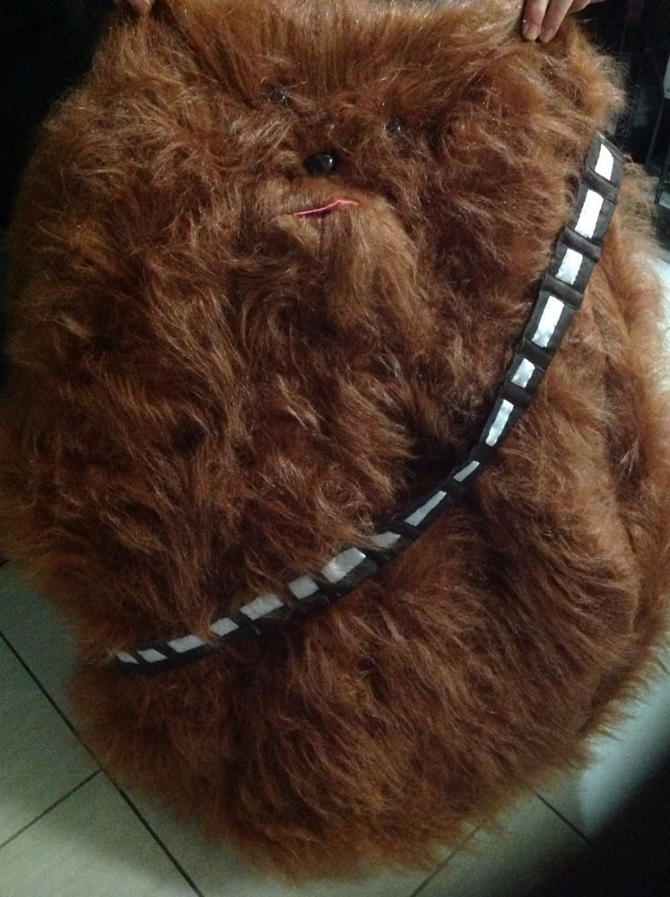 BEANBAG CHEWBACCA FAUX FUR BEAN BAG STAR WARS FANS GAMING