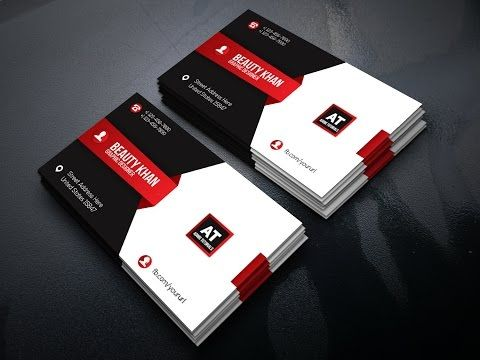 Adobe illustrator cc tutorial make business card design in adobe adobe illustrator cc tutorial make business card design in adobe illustrator youtube reheart Gallery