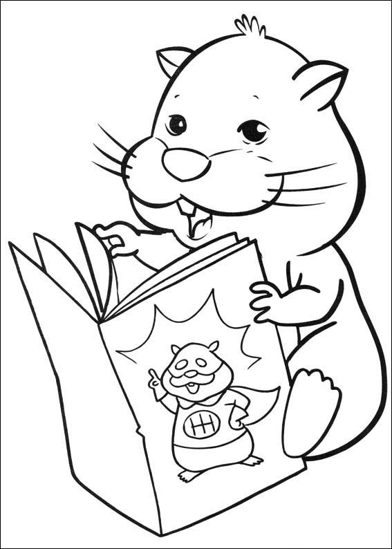 Zhu Zhu Pets Coloring Pages 10 | Coloring pages for kids | Pinterest