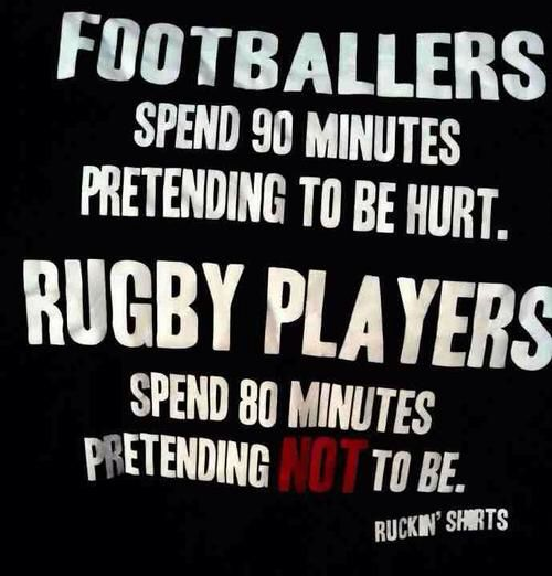 Rugby Vs Football Rugby Quotes Rugby Players Rugby Sport