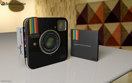 Physical 'Instagram' Camera To Be Launched In 2013 - DesignTAXI.com