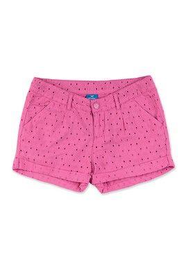 dcfa81c98 Shorts Infantil Menina Em Tecido Laise   adorei