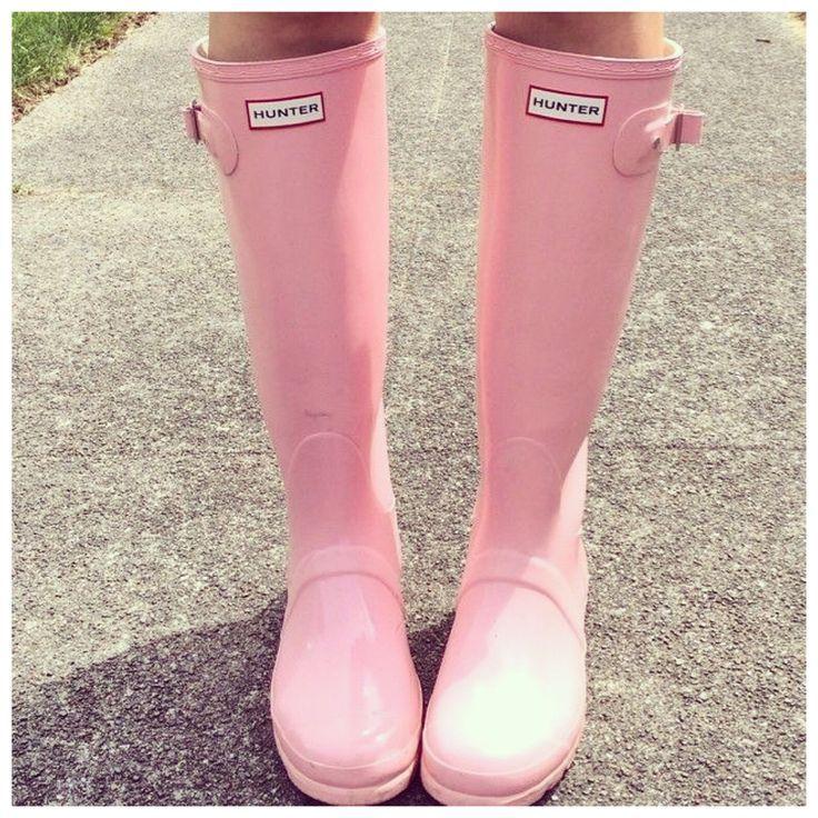 pink ugg rain boots