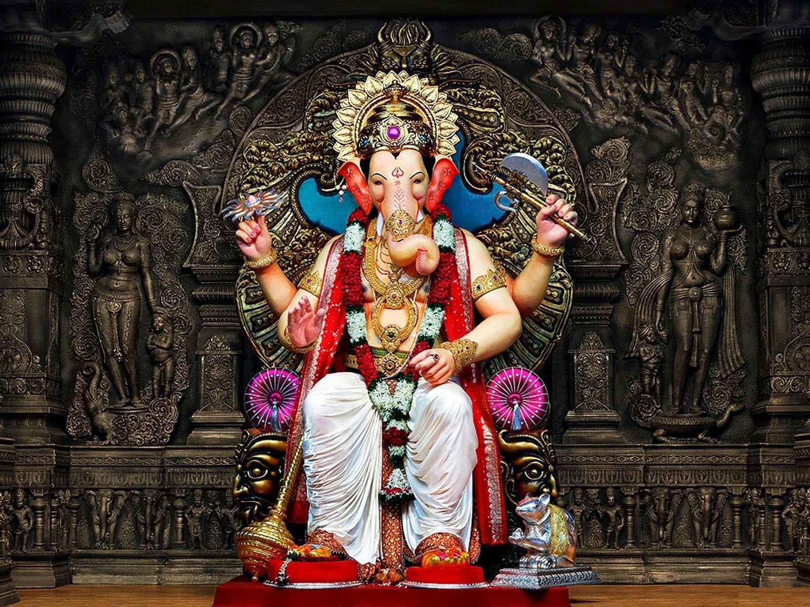 Ganesh chaturthi mumbai hd pictures god figurative in 2019 ganesh wallpaper happy ganesh - Sri ganesh wallpaper hd ...