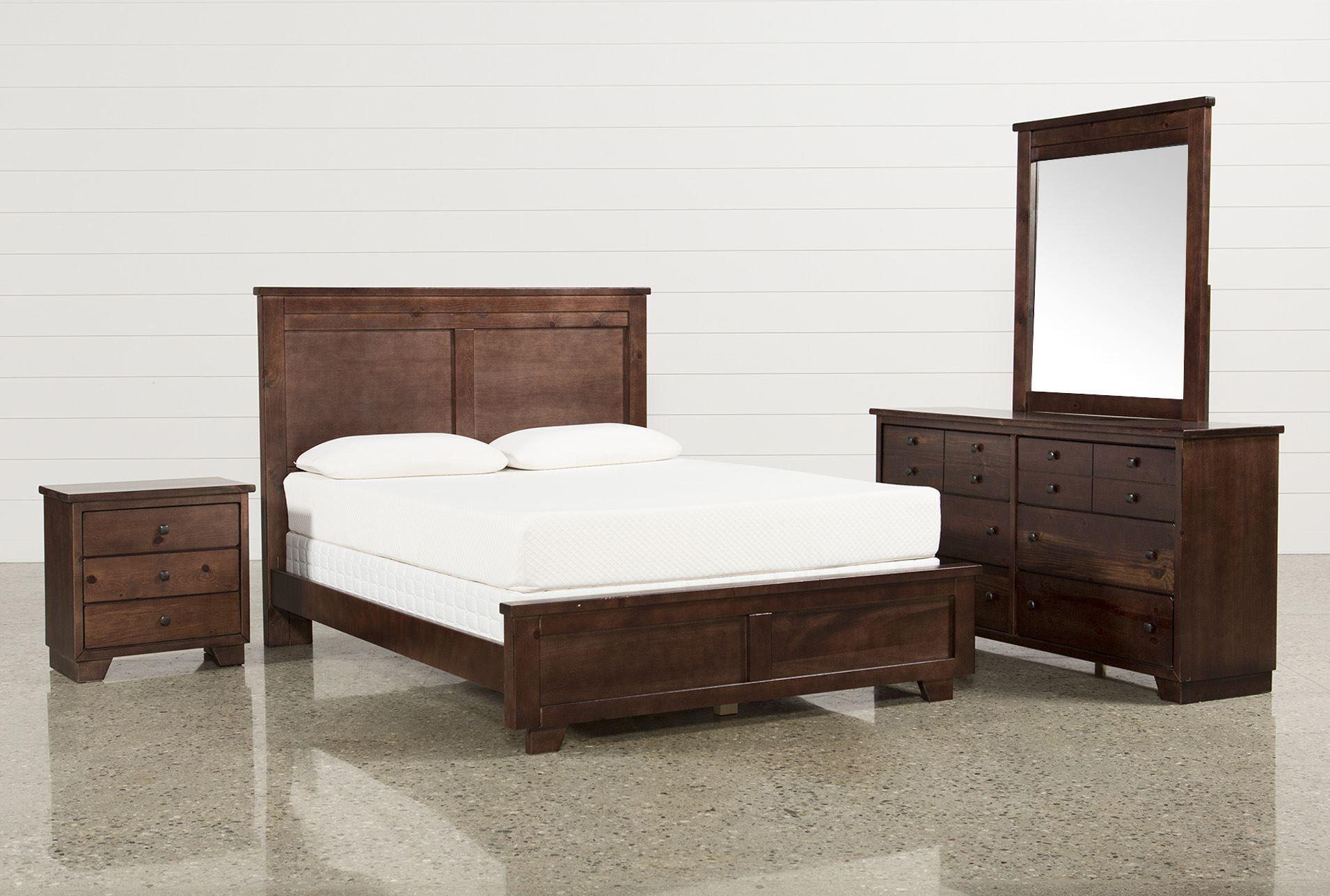 Queen 4 Piece Bedroom Set Marco Brown Bedroom Sets Bedroom