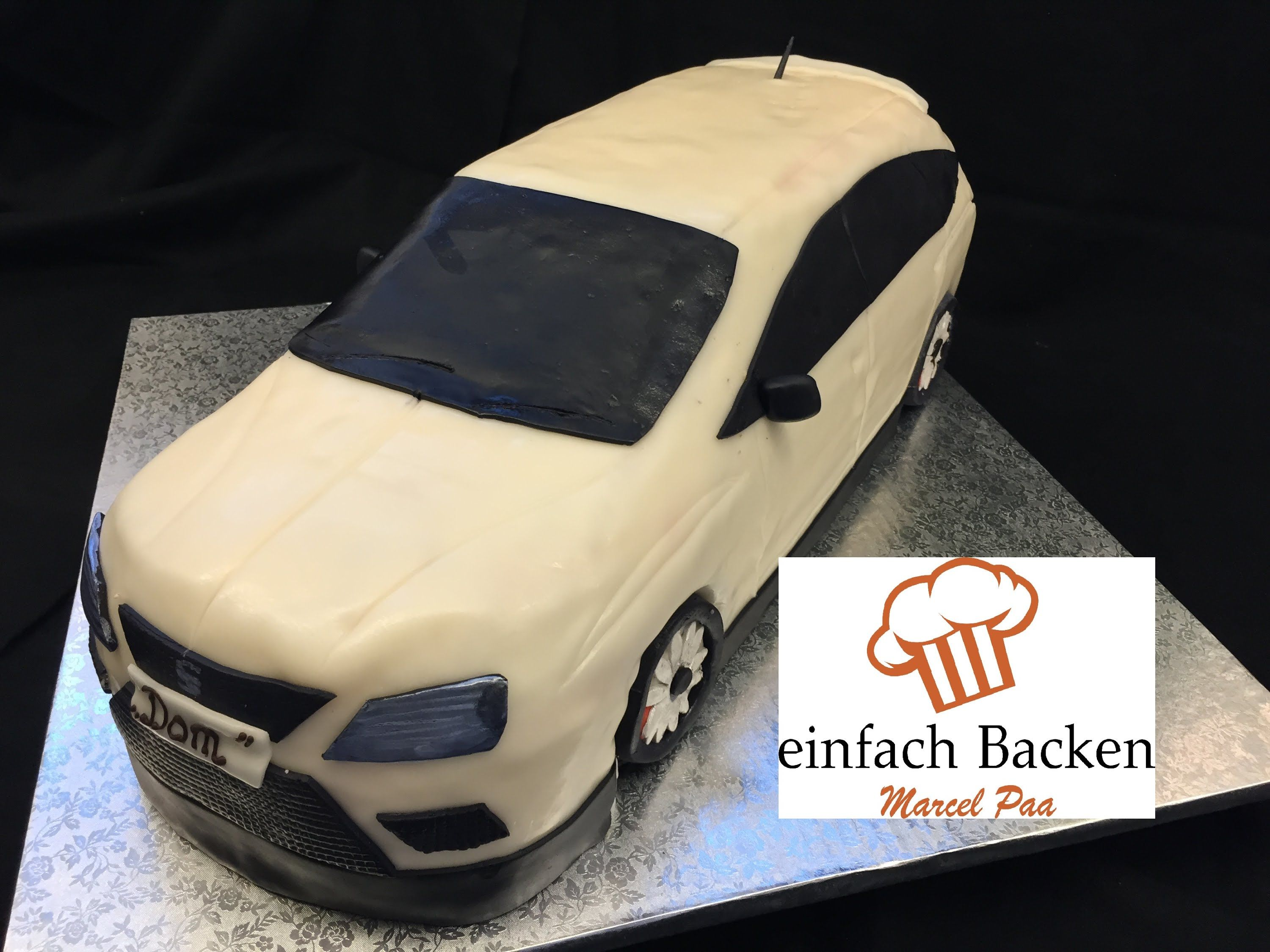 seat 3d torte car cake tutorial anleitung mit rezept von einfachbacken autos pinterest. Black Bedroom Furniture Sets. Home Design Ideas