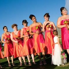 Orange Pink Fuchsia Wedding Ideas Fuchsia Wedding Orange And Pink Wedding Orange Wedding
