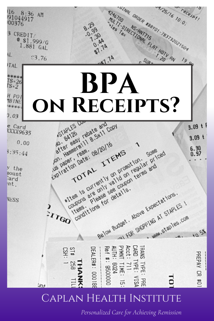 Bpa Toxicity From Receipts Food Storage Containers Receipts Bpa