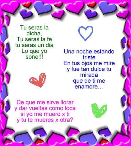 Mas De Amor Yahoo Image Search Results Frases Sentimentales Poesías De Amor Amor