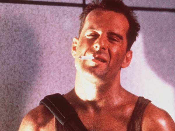 bruce willis band | ... says Christmas like the original Die Hard ...