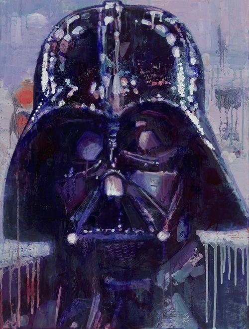 Vader #StarWars #JustInTime #Darth #Vader #PrintsForSale #IAmYourFather #Darkside http://www.nickchaboya.com/store/ @NickChaboya