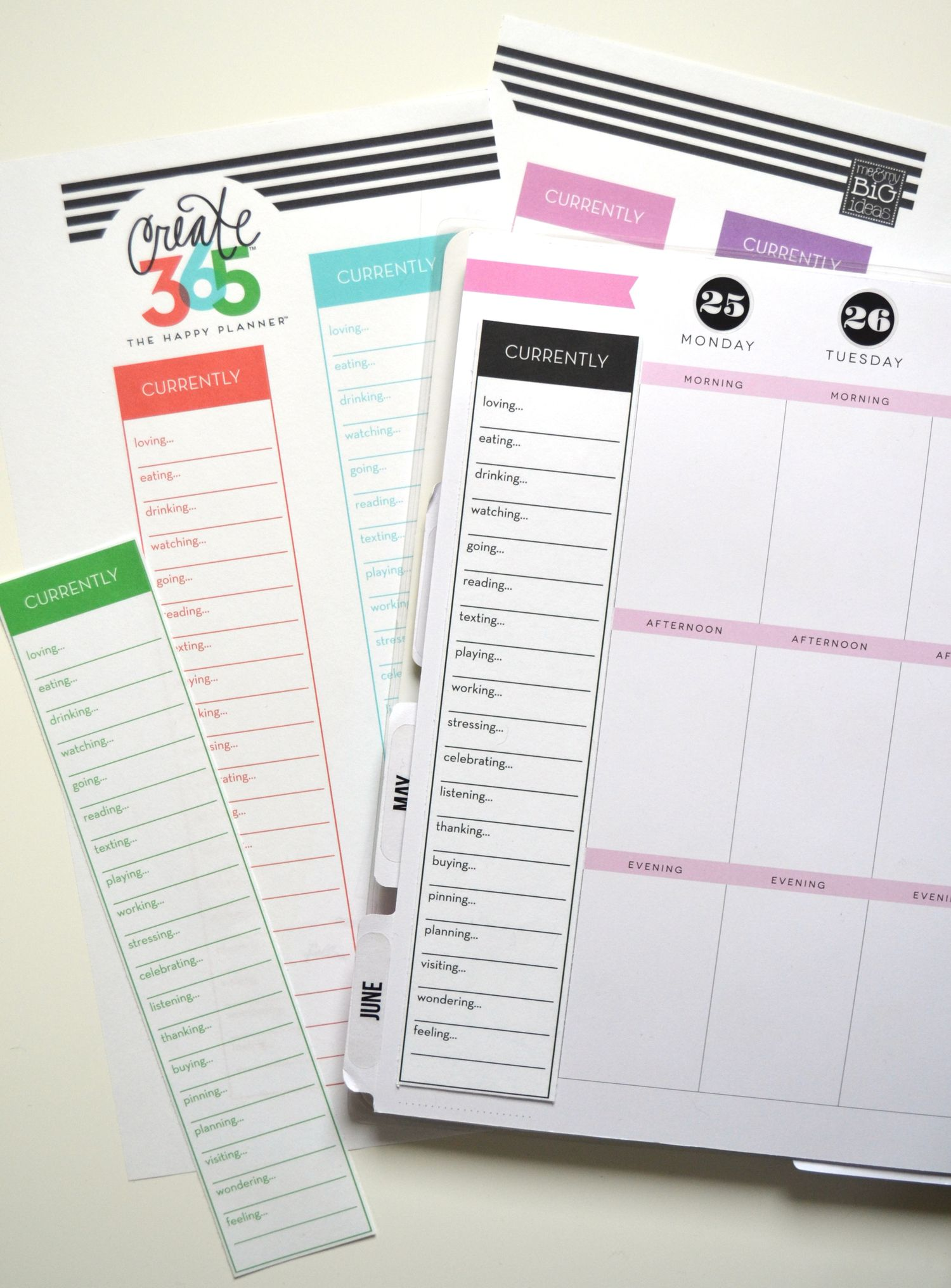 39 currently 39 free printables for the happy planner free for Create planner online