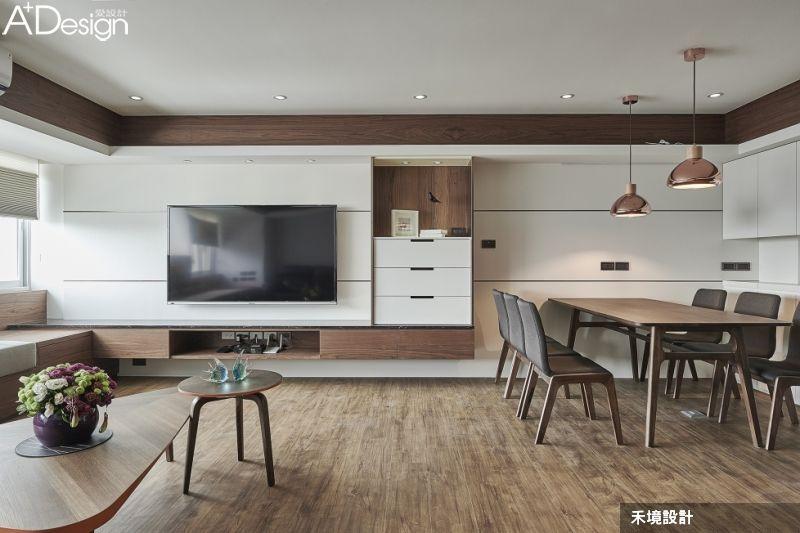 熱愛純木生活的新日式現代風 tv console design muji home house design