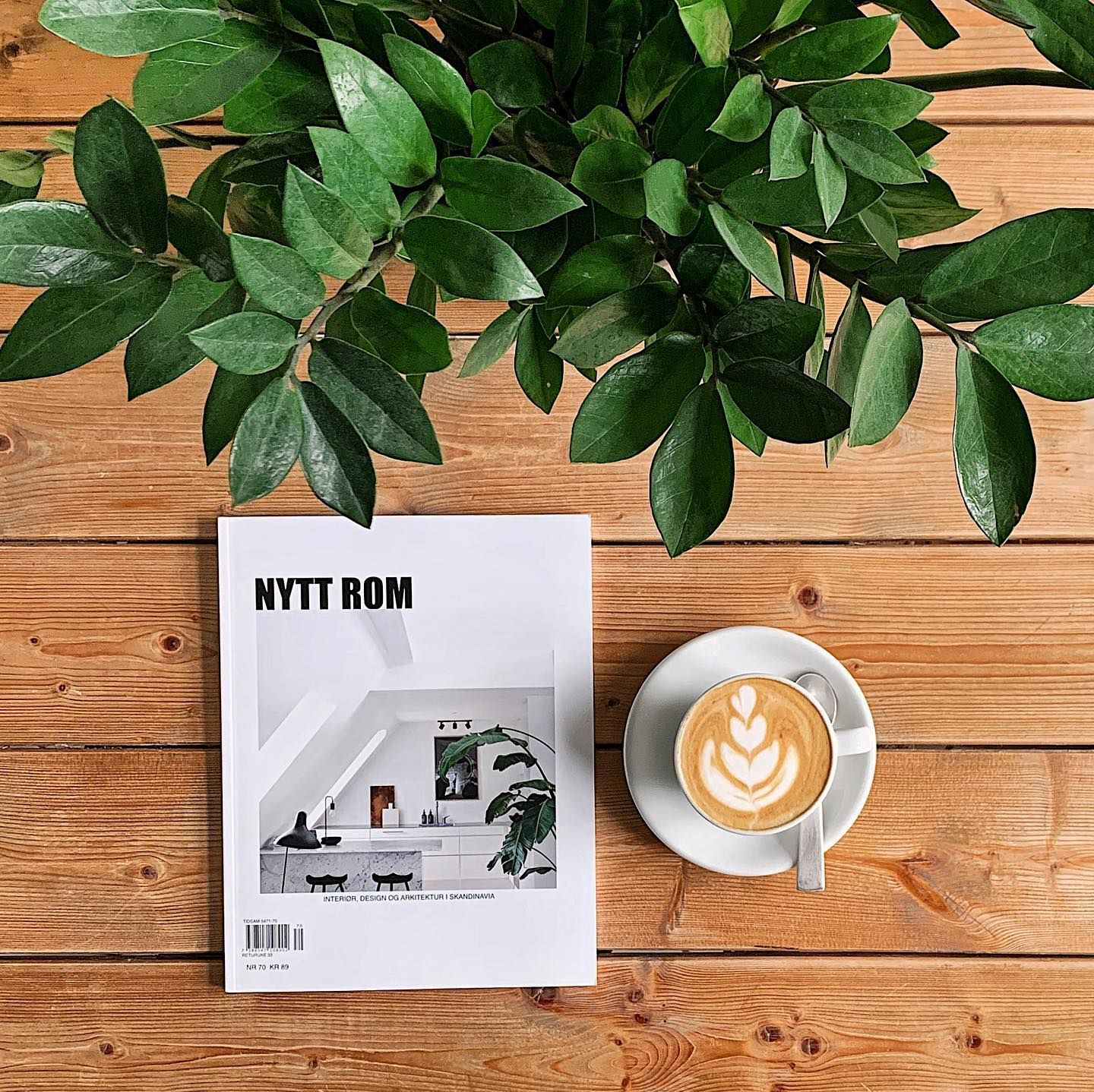 Good morning Wednesday! While we are still waiting for the latest issue to arrive at our shop we are very happy about the arrival of Nytt Rom  Issue 70. Nytt Rom is a Norwegian magazine (Norwegian language only!) presenting Scandinavian design architecture and living. Dive into the homes of Birgit Pedersen Emil Thorup Kamilla Rosado and much more. Now available in our online shop (touch the picture for a link)!  #nyttrom #interiørmagasinet #interiormagasinet #interiormagazine #interiordesignmaga