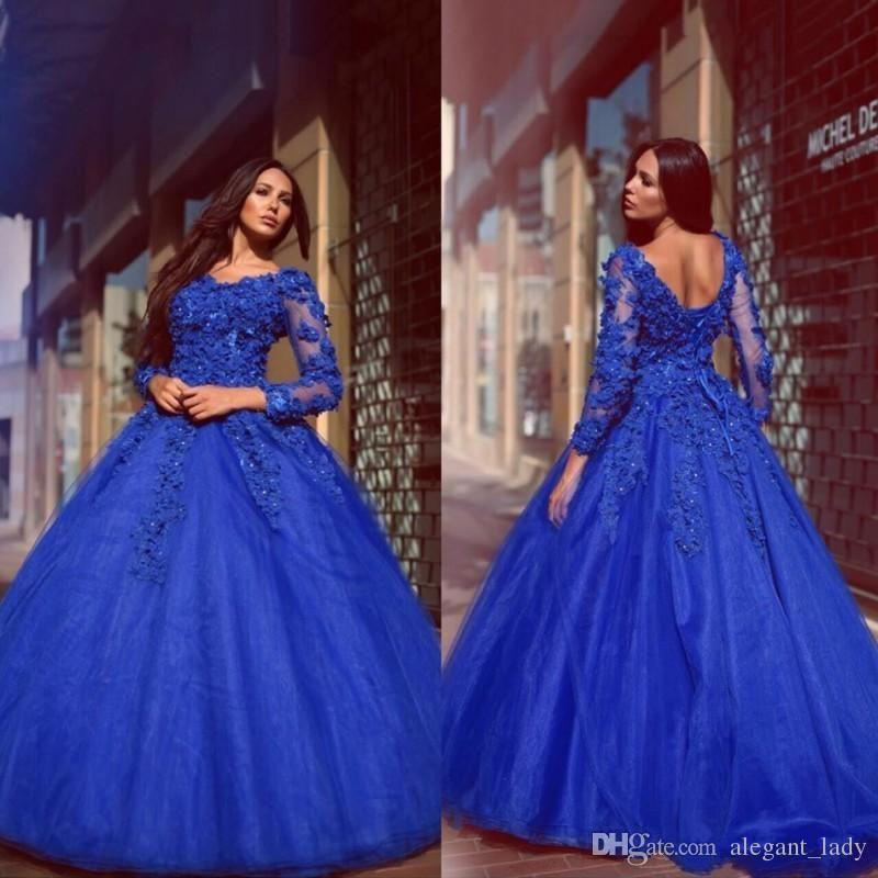 robe de mariée Off Shoulder Prom Dresses 2018 Plus Size ...