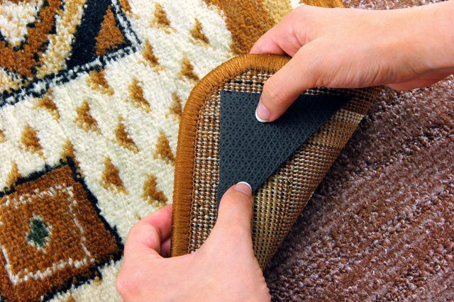 How To Stop Rugs Moving On Carpet Throw Carpet Rugs On Carpet Rug Making