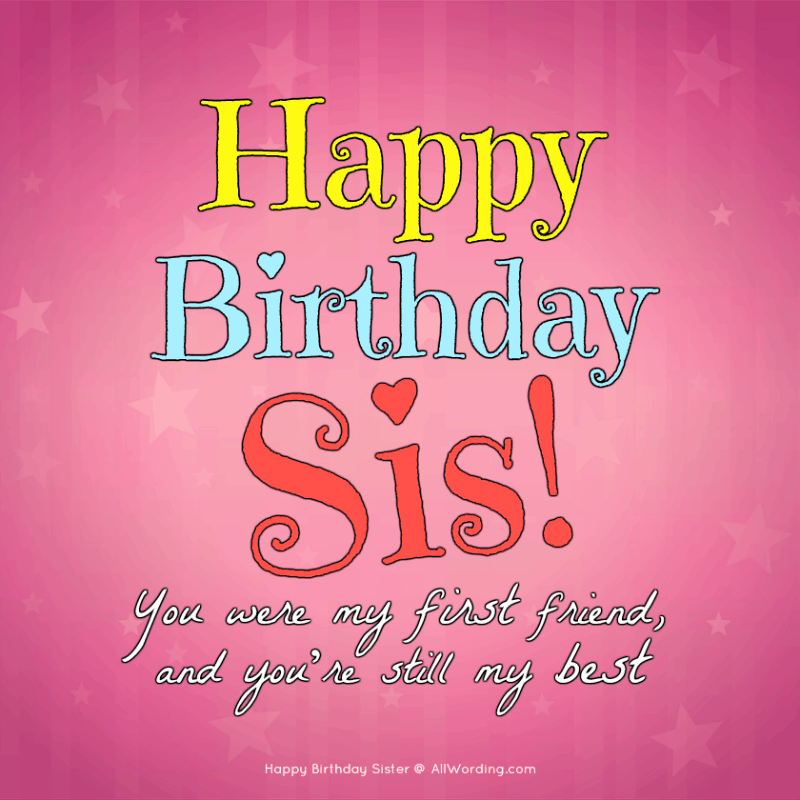 Happy Birthday Sister Images.Happy Birthday Sister 50 Birthday Wishes For Your Amazing