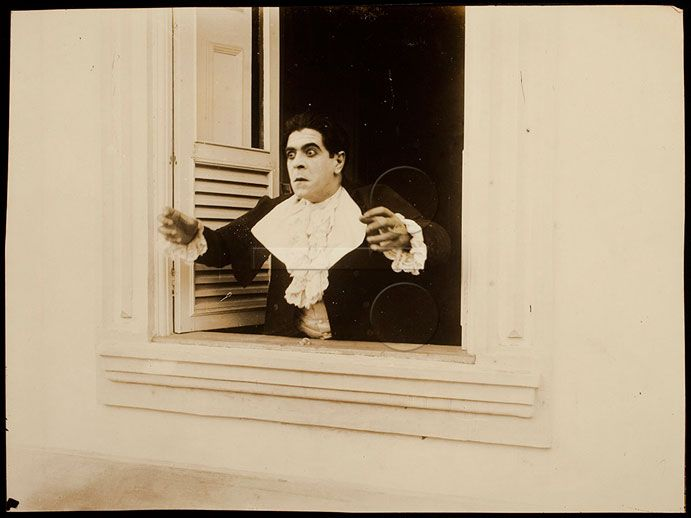 Amor de Perdição (1917, José Vianna) Na foto: Álvaro Fonseca Preservação e difusão do acervo fotográfico da Cinemateca Brasileira | Banco de Conteúdos Culturais