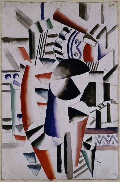 Fernand Léger - Composition cubiste, 1917