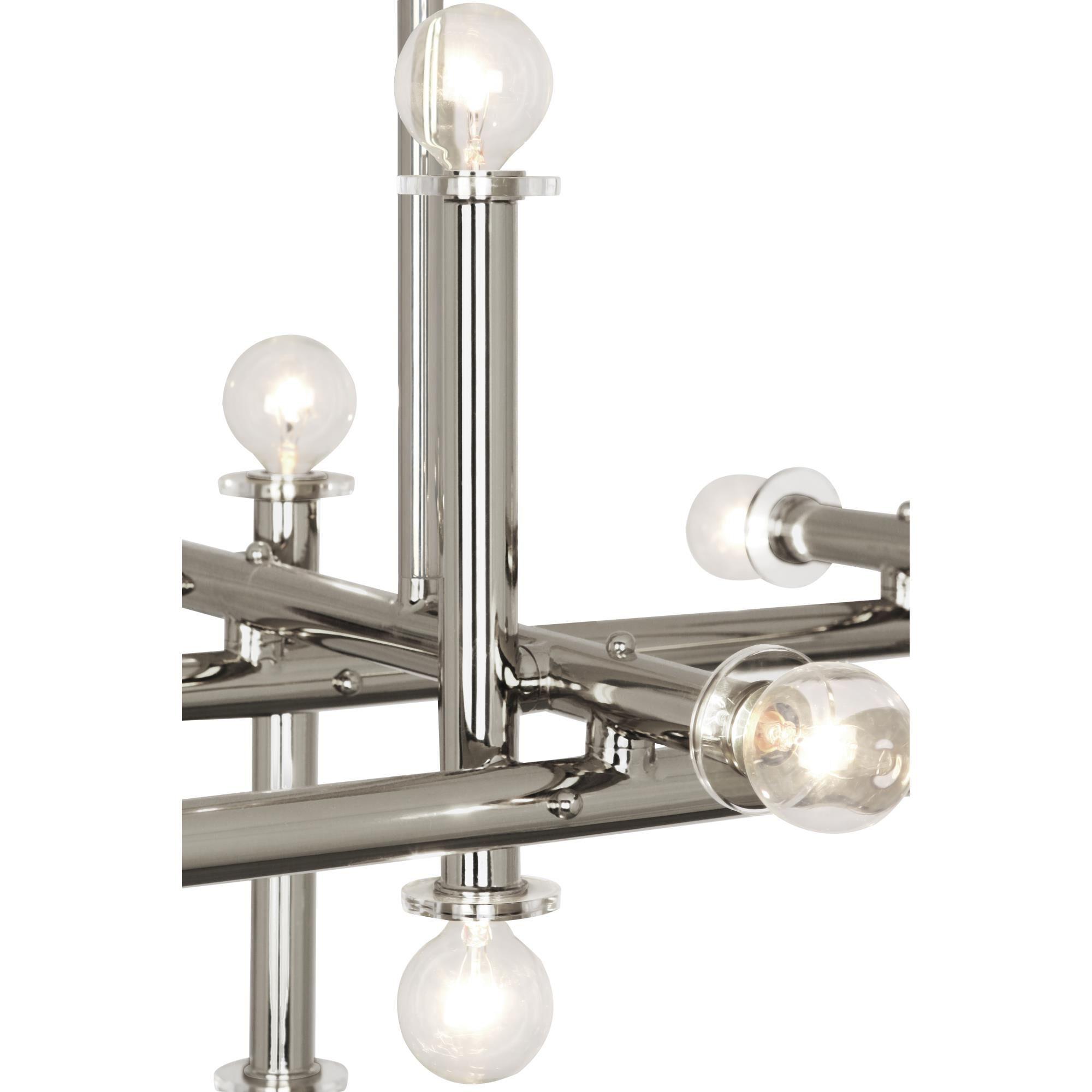 Jonathan Adler Milano 48 Inch 16 Light Linear Suspension Light by Robert Abbey Milano Linear Suspension Light by Robert Abbey - S803