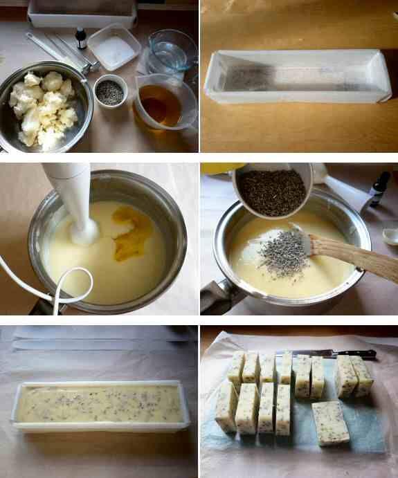 Ingredientes para hacer jabon casero en frio