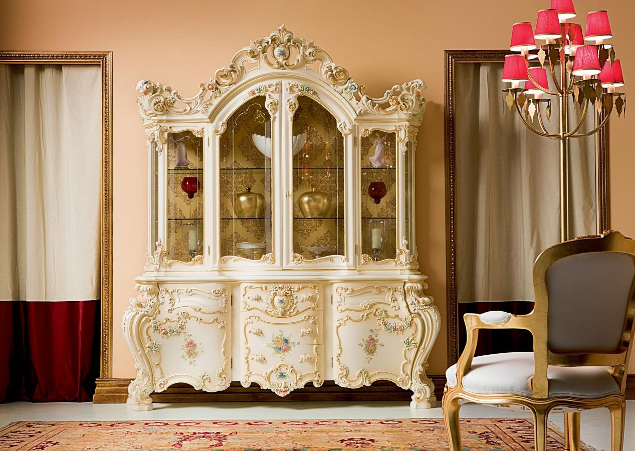 Room Minerva China Cabinet By Silik Victorian Dining